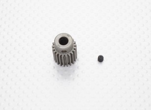 """Hard One"" 0.7M Hardened Helicopter Pinion Gear 6mm Shaft - 21T"