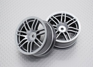 1:10 Scale High Quality Touring / Drift Wheels RC Car 12mm Hex (2pc) CR-RS4S