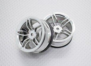 1:10 Scale High Quality Touring / Drift Wheels RC Car 12mm Hex (2pc) CR-FFC