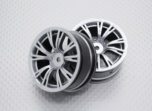 1:10 Scale High Quality Touring / Drift Wheels RC Car 12mm Hex (2pc) CR-BRS