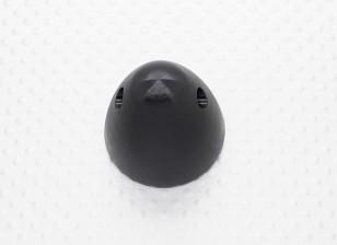 "30mm Aluminum spinner prop nut 5/16""-24 (Anodised Black Finish)"