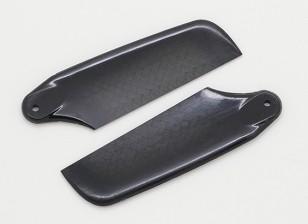 62mm High Quality Carbon Fiber Tail Blades
