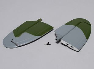 Durafly™ Supermarine Spitfire Mk 24 - Replacement Horizontal Stabilizer