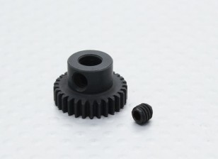 29T/5mm 48 Pitch Hardened Steel Pinion Gear