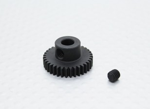 35T/5mm 48 Pitch Hardened Steel Pinion Gear