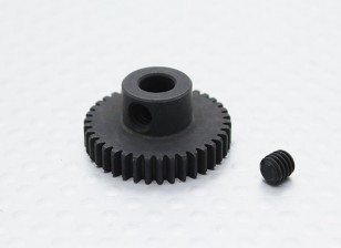 38T/5mm 48 Pitch Hardened Steel Pinion Gear