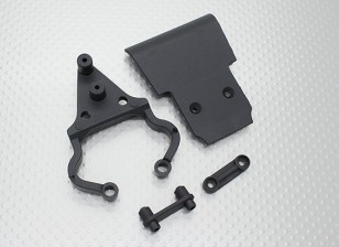 Quanum Skull Crusher 2WD - front bumper set, mount & holder