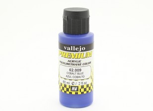 Vallejo Premium Color Acrylic Paint - Cobalt Blue (60ml) 62.009
