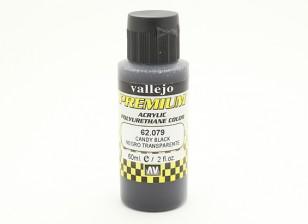 Vallejo Premium Color Acrylic Paint - Candy Black (60ml) 62.079