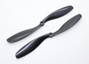 Carbon Fiber with DJI Fitting Propeller 8x4.5 Black (CW/CCW) (2pcs)