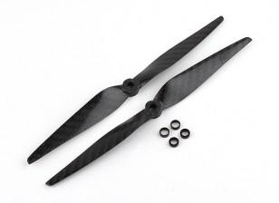 Multistar Carbon Fiber Propeller 8x4.5 Black (CW/CCW) (2pcs)