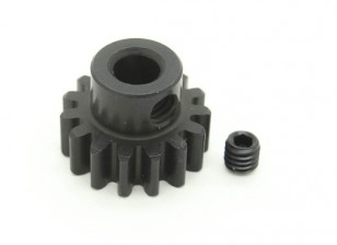 15T/5mm M1 Hardened Steel Pinion Gear (1pc)