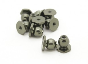 Basher Nitro Circus MT, SaberTooth Truggy - 8mm hexball stud (10pcs)
