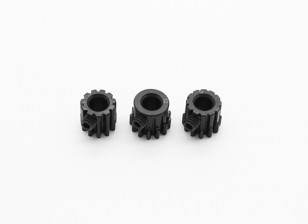 Hardened Steel Pinion Gear Set 32P To Fit 5mm Shaft (11/12/13T)