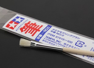Tamiya Standard Flat Brush (Item 87015)