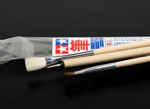 Tamiya Standard 3 Piece Brush Set
