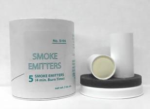 4 Minute White Smoke Cartridges (5pcs)