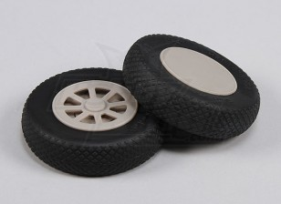 Scale Air Wheels 102mm (4inch) (Split Hub) (2pcs/Set)