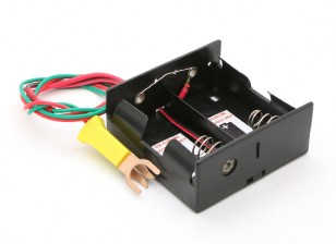 Cox Starter Battery Box with Glow Plug Clip