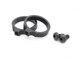 Element EX310 LR Tactical Flashlight Mount rings 1.040inch (Black, 2pcs/pack)