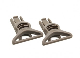 FMA Goggle Swivel Clips 36mm (Dark Earth, 2pcs / pack)