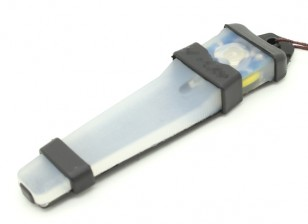 FMA Velcro Safety Light with Black tray (BLUE)