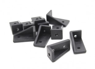 RotorBits 20x10 Right Angle Bracket  RH (Black) (10pcs/bag)