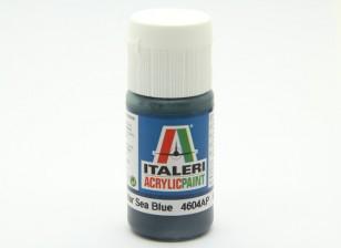 Italeri Acrylic Paint - Flat Non Specular Sea Blue (4604AP)