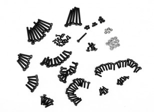 RJX X-TRON 500 Complete Screw Set # X500-6001 (130pcs)