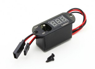 Turnigy Heavy Duty Receiver Switch / LED Voltage Dispay