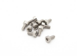 Titanium M3 x 6 Sockethead Hex Screw (10pcs/bag)