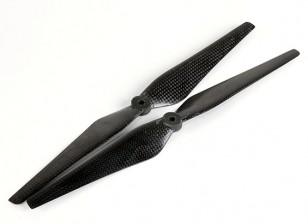 Mulirotor Carbon Fiber Propeller 12x4.3 Black (CW/CCW) (2pcs)