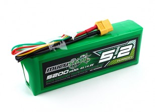 Multistar High Capacity 5200mAh 4S 10C Multi-Rotor Lipo Pack