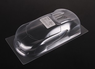 1:10 BUGATTI VEYRON 16.4 Clear Body Shell