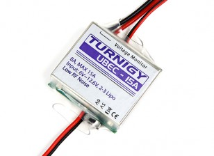 TURNIGY 8-15A UBEC for Lipoly