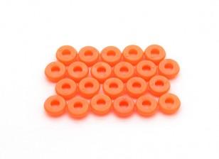 Tarot 450 Pro/Pro V2 DFC M3 Canopy Washers - Orange (TL2820-02)