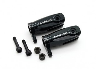 Tarot 450 Pro/Pro V2 DFC Main Blade Grip Assembly (Large Bearing) - Black (TL48010-B)