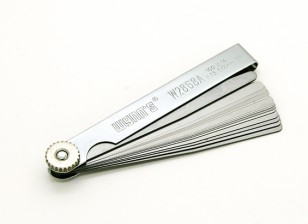 Feeler Gauge - Set of 14 (0.05~1.00mm)