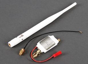2.4GHz 2 Watt Signal Amplifier for DJI Phantom 1 & 2 (White)