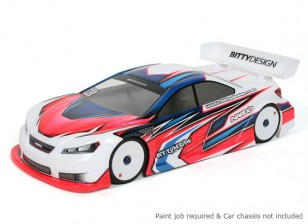 Bittydesign Nardò 190mm 1/10 Touring Car Racing Body (ROAR approved)