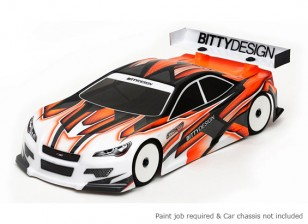 Bittydesign Striker-SR v3.0 190mm 1/10 Touring Car Racing Body (ROAR approved)