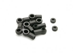 BSR Racing M.RAGE 4WD M-Chassis - Ball Cups (8pcs)