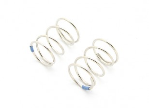 BSR Racing M.RAGE 4WD M-Chassis - Option Hard Spring Set - Blue (2pcs)