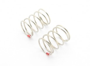 BSR Racing M.RAGE 4WD M-Chassis - Option Soft Spring Set - Red (2pcs)