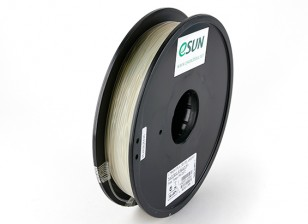 ESUN 3D Printer Filament Natural 1.75mm PLA 0.5KG Spool