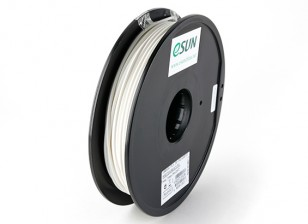 ESUN 3D Printer Filament White 3mm PLA 0.5KG Spool
