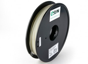 ESUN 3D Printer Filament Natural 3mm PLA 0.5KG Spool