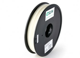ESUN 3D Printer Filament Natural 1.75mm ABS 0.5KG Spool