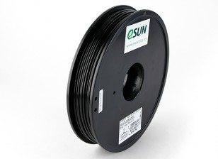 ESUN 3D Printer Filament Black 3mm ABS 0.5KG Spool