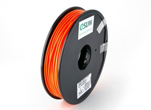 ESUN 3D Printer Filament Orange 3mm ABS 0.5KG Spool